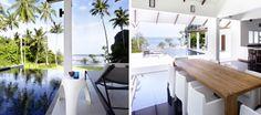 The Beach House AoNang Beach. A family pool villa located on a private beach in Krabi - http://www.krabivillas.com/the-beach-house  Red the reviews on Flipkey!