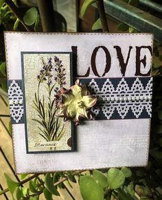 Meg's Garden: Cards and Memory Pocket by Brenda Caldow