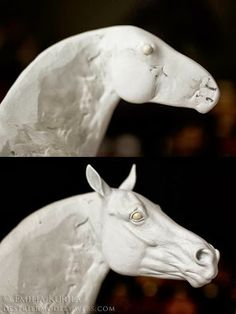 "A couple weeks ago, Finnish artist,  Emilia Kurila , posted the following ""tutorial"" on her Facebook page :     HOW TO SCULPT THE HEAD OF A..."