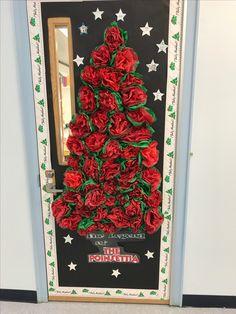 Tissue paper mexican door decoration | Classroom ideas ...