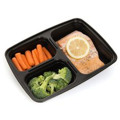 Meal Prep Haven 3 Compartment Food Containers with Airtight Lid, Bento Box, Lunch Box for Meal Prep, 21 Day Fix and Portion Control, Set of 7 Healthy Meal Prep, Healthy Snacks, Healthy Eating, Healthy Recipes, Diet Snacks, Keto Recipes, Healthy Potluck, Healthy Fruits, Healthy Life
