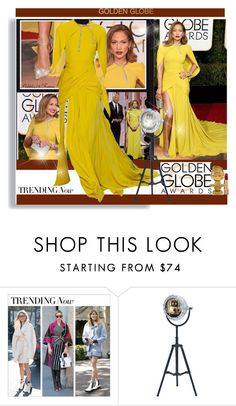 """""""Golden Globes 2016 Jennifer Lopez"""" by pebbles78 ❤ liked on Polyvore featuring Giambattista Valli, Dot & Bo, Chanel, women's clothing, women's fashion, women, female, woman, misses and juniors"""