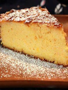 Orange polenta cake recipe easy