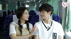 """Yook Sungjae Caught Off Guard By Joy's Unexpected Skinship on """"We Got Married"""""""