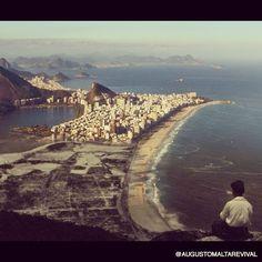 Fotógrafo mescla imagens do Rio antigo a fotos atuais da cidade - Fotos - UOL Notícias
