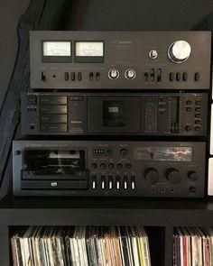 Technics SU-7700K (1977)  Nakamichi BX-125E (1985)  Technics RS-673 (1978)  Vintage Audio Love