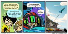 Rage Quit, Penny Arcade, Comic Art, Racing, Comics, Running, Auto Racing, Cartoons, Comic
