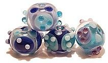 Cool Braille glass beads