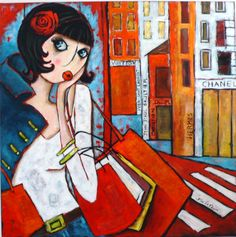 Pop Art, Love Wall Art, France Art, Sad Wallpaper, Drawing Projects, Popular Art, Whimsical Art, Poster, Figure Painting