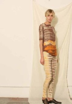OBSESSED with these leggings from Raquel Allegra's #Holiday2012 collection