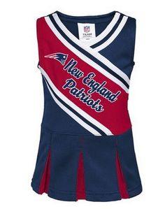 New England Patriots little cheerleader dress $18.74