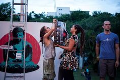 Processos de Montagens. Centro de Cultura domigo. Ananda Marchetti Fereira e Bruna Rizzotto. Campinas - SP. 2013.