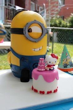 Stuart Minion - Cake by Sùcré Designer Cakes