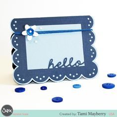 For the clean and simple card, Tami Mayberry has you covered!