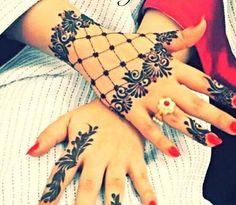 Latest Fashion Mehndi Designs 2016 For Girls