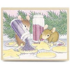 """""""Decorating Cookies"""" from House-Mouse Designs® (HMJR1049)  Aaaaack too much cuteness!"""