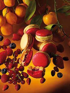 75 Paris - Vous invite à découvrir le macaron Jardin Andalou, mariage de cœur sur un rythme de flamenco.