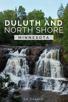 Beginning in the charming port city of Duluth and ending at the US-Canada border, Minnesota's North Shore is home to some of the best scenery in the Midwest USA. Click through for a Minnesotan's suggestions for a road trip, including Gooseberry Falls and Split Rock lighthouse. | #USA #Midwest