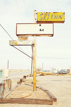 The Salton Sea, California. Used to be a tourist destination but now everything is abandoned due to environmental issues. Arcade, Salton Sea, Fallout New Vegas, Night Vale, Old Signs, California, Mellow Yellow, Summer Colors, Abandoned Places