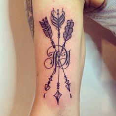 tattoo arrow significado - Pesquisa Google