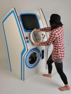 Very strange washing machine!