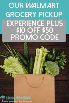 Our Walmart Grocery Pickup Experience Plus 10 Off 50 Promo Code DealsMoney Saving