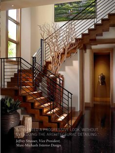 the spring issue iron iron stair