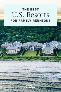 We've rounded up some of the #bestresorts for a family reunion from #coast to coast. #resort #familytravel #ustravel #beach #mountains #getaway Best Family Vacations, Free Vacations, Us Travel, Family Travel, Kiawah Island Golf, Jackson Hole Mountain Resort, Best Resorts, Destin Beach, Rafting