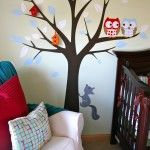 """Lots of cute ideas in this very """"boy"""" room --- combines owl theme and avaiation together....nice"""