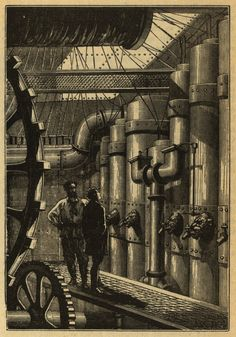 Engine Room for the Nautilus