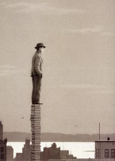 """The view... """"Book Tower"""" by Quint Buchholz"""