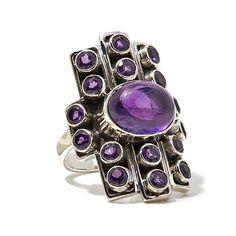 Shop Nicky Butler Gemstone Sterling Silver Linear Ring 8034878, HSN.com.