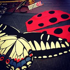 Creating the beautiful costumes in the Shutterbug selfie station! http://beatymuseum.ubc.ca