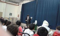 Show en colegio municipal