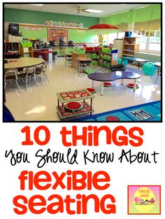 Are you thinking about trying Flexible Seating in your classroom?  This post will give you 10 tips on how to begin with  easy and inexpensive tips on seating choices .