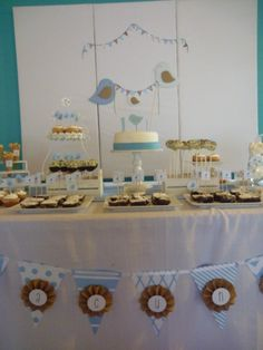 Mesa dulce Baby Shower, Candy, Table Decorations, Ideas, Sweet, Toffee, Baby Sprinkle, Candy Notes, Baby Showers