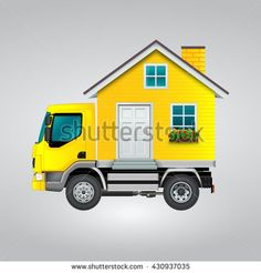 Detail Recreation Vehicle Truck Icon / My Truck, My Sweet Home Detailed Icon / RV Icon - stock vector