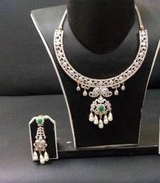 Buy cz diamond Necklace online