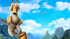 ice age pics | Ice Age 4 Squirrel Wallpaper In 1366x768 Resolution Free Wallpapers ...