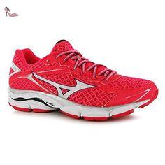 Mizuno Wave Ultima 7Chaussures de course à pied pour femme Rose/WHT Baskets Sneakers Chaussures de sports, rose/blanc, (UK5.5) (EU38.5) (US8) - Chaussures mizuno (*Partner-Link)