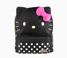 Hello Kitty Backpack: Pop Black