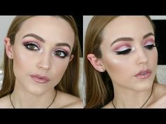 EASY Cut Crease Makeup Tutorial - YouTube