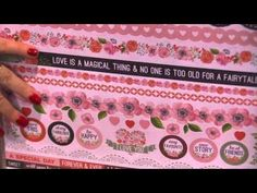 True Love Collection by Kaisercraft - CHA Winter 2016 Video