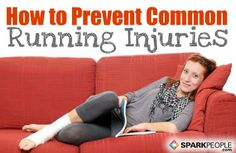 Common #Running Injuries and How to Treat Them: Almost all runners will develop an injury at some point, so repin this if you #run. Guide includes tips for treating/preventing IT band syndrome, shin splints, plantar fasciitis and more! | via @SparkPeople