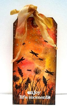 Distressink tag!Love fall♥♥