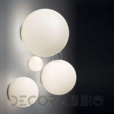 Светильник  потолочный/настенный накладной Artemide Dioscuri, 1039010A