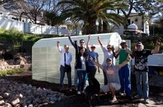 Urban Freedom installs Greenhouse at Oranjezicht City Farm - Urban Freedom