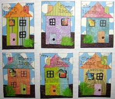 collage house atcs | Flickr - Photo Sharing!