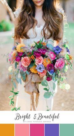Bright Beautiful Summer Wedding Colour Palette #weddings #wedding #marriage #weddingdress #weddinggown #ballgowns #ladies #woman #women #beautifuldress #newlyweds #proposal #shopping #engagement