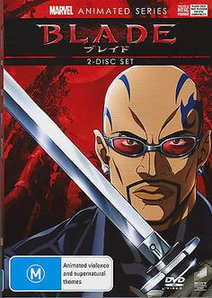 Marvel animated series - #blade #(dvd, #2012, 2-disc set),  View more on the LINK: 	http://www.zeppy.io/product/gb/2/331663677500/